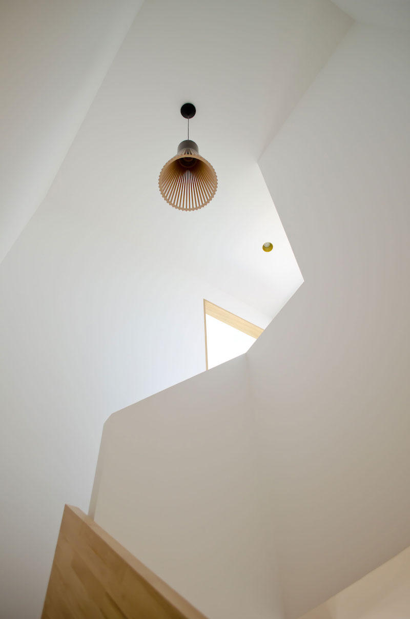 A big Little nest staircase pendant lamp