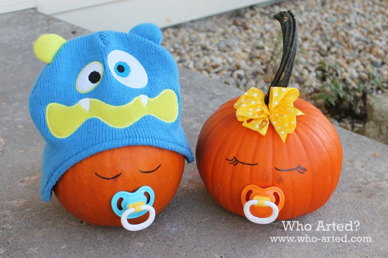 baby-pumpkins-for-halloween-party