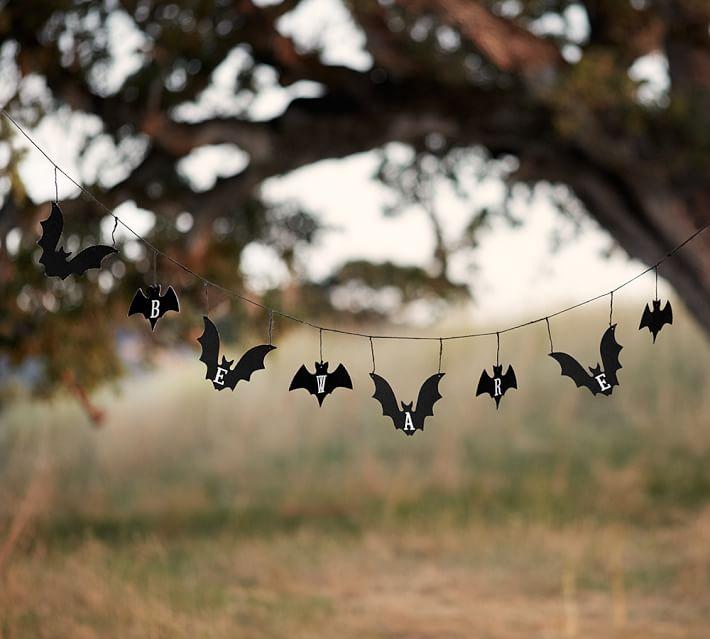 Beware bat banner