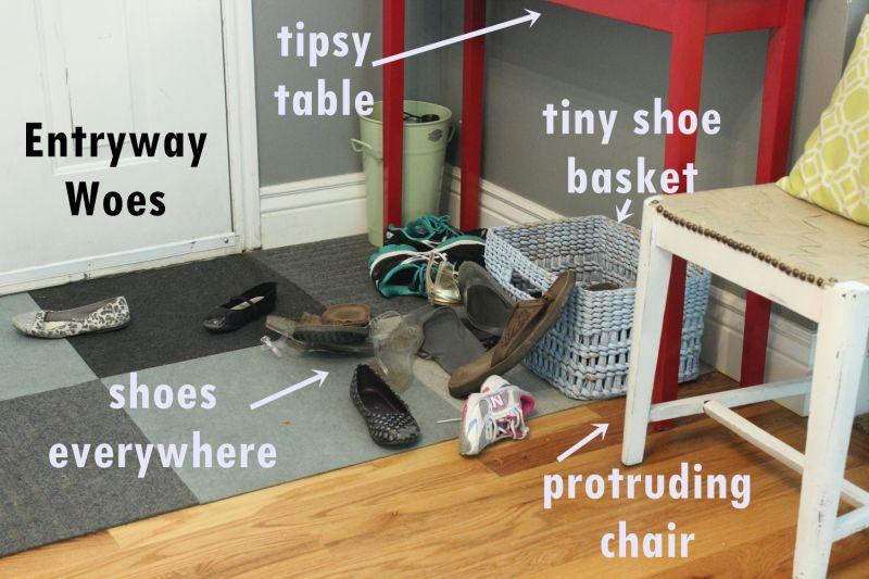 Build an entryway bench