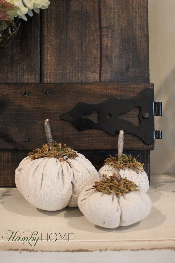 Burlap pumpkin cloth
