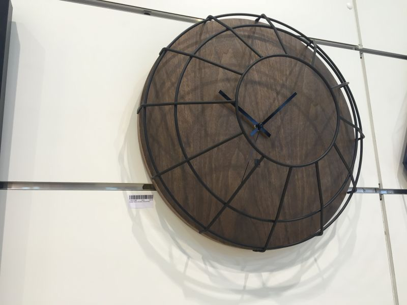 Cage wall clock from Umbra