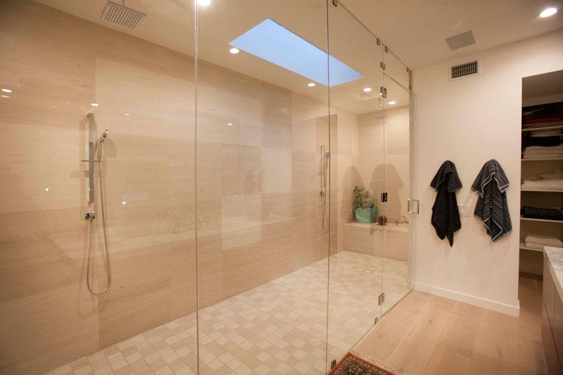 Clea House bathroom showers