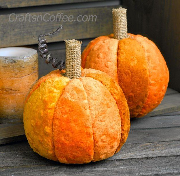 cozy and soft pumpkin decor - Pumpkin Decor