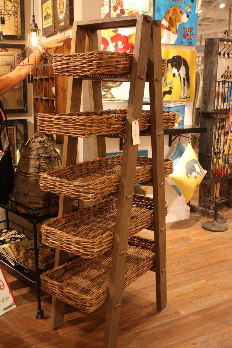 Creative coop basket display storage