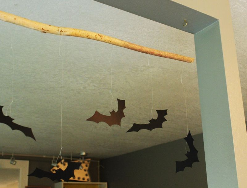 Diy Bat Branch Kids Project