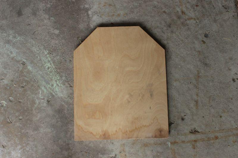 DIY Chalkboard Tombstone -silhouette