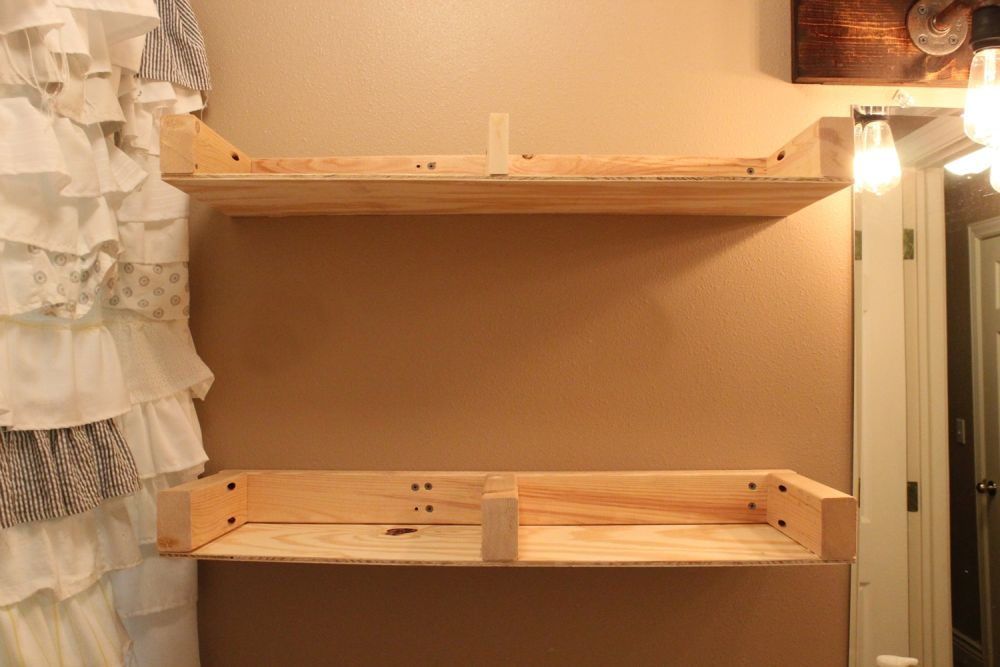 diy-floating-shelves-taking-shape