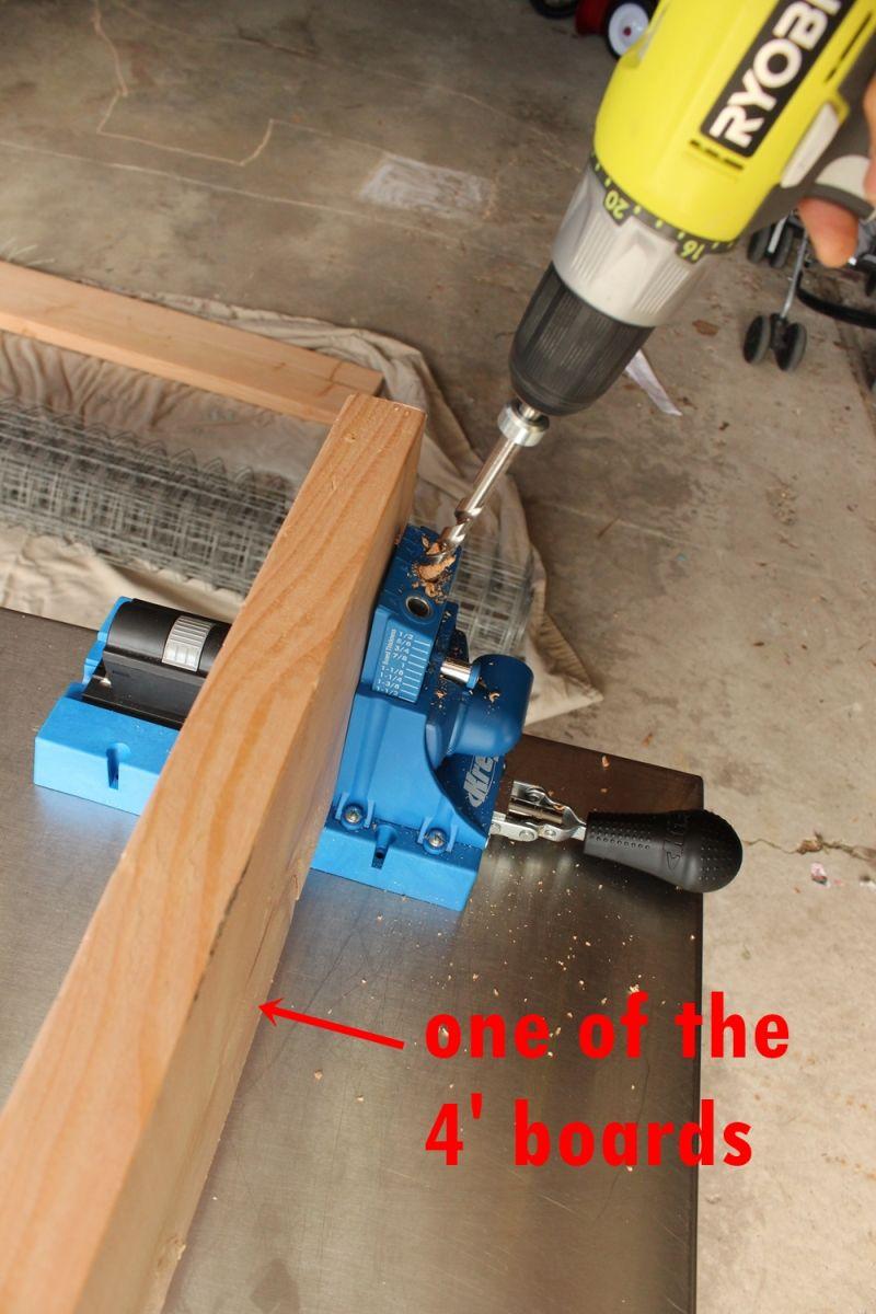 DIY Industrial Bench - Using your Kreg jig