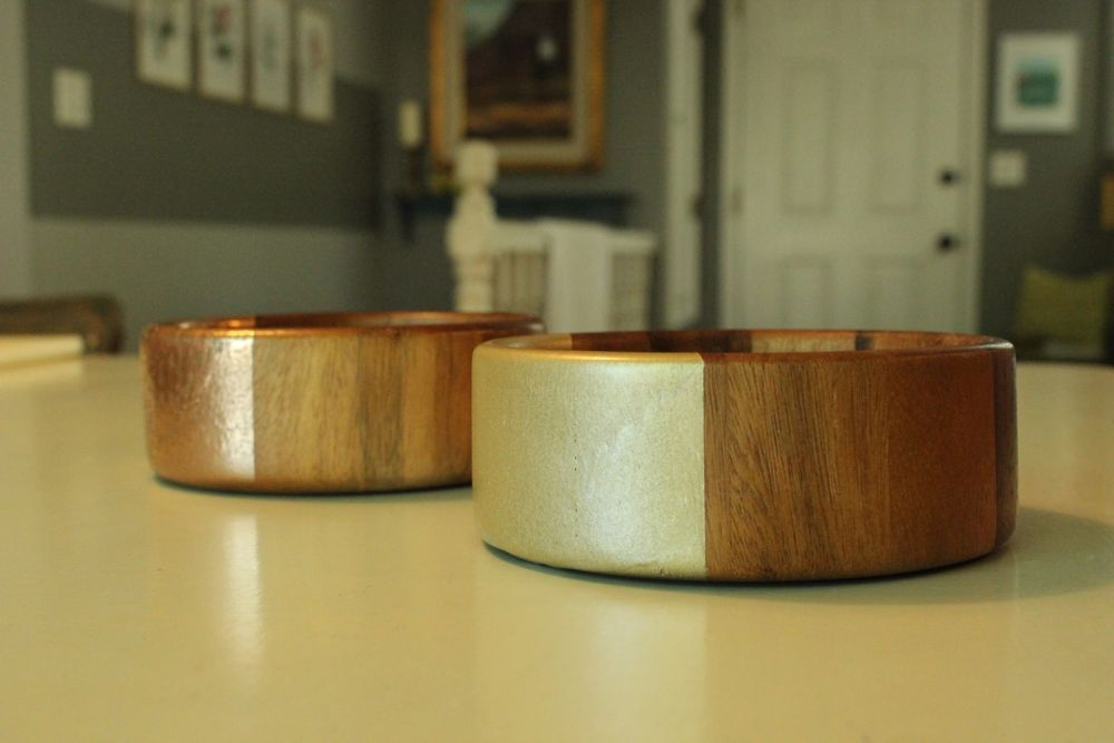 DIY Metal Wood Bowls - Project for Home