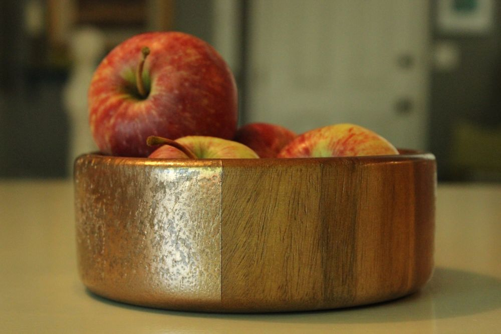 DIY Metal Wood Bowls - Project