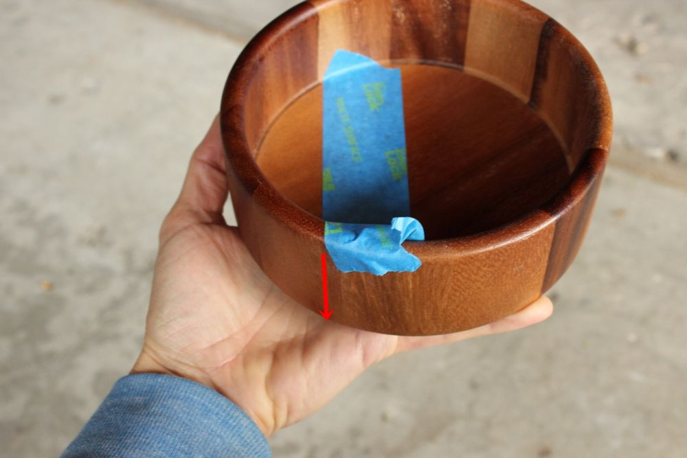 DIY Metal Wood Bowls - turn bowl