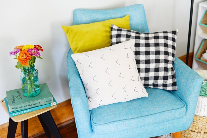 DIY Mud Cloth Inspired Pillow