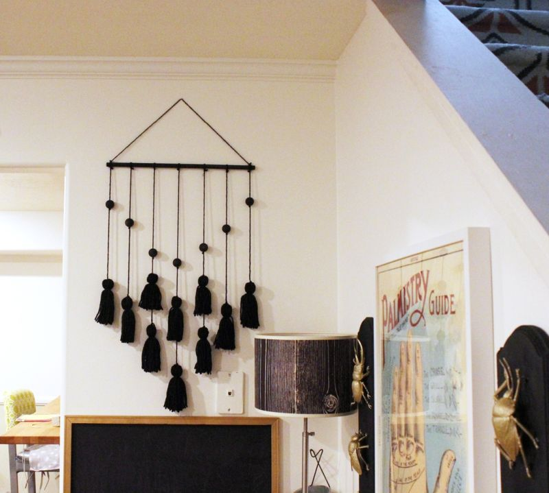 DIY Tassel Hanging for Halloween