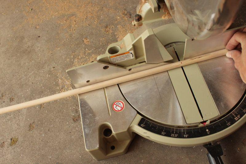 DIY Tassel Hanging-mark and cut