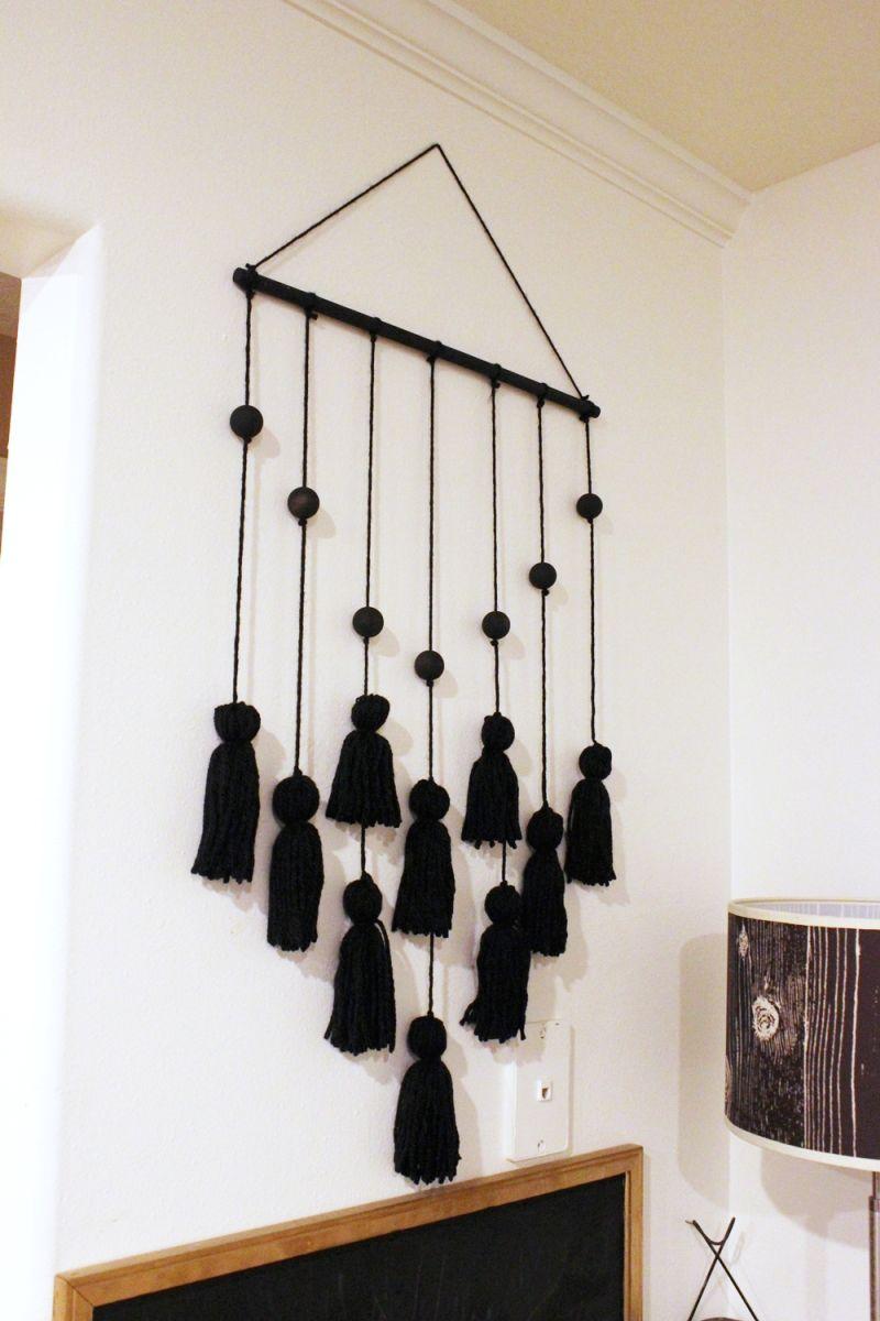 DIY Tassel Hanging-symmetry