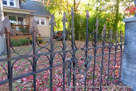 diy-faux-iron-fence