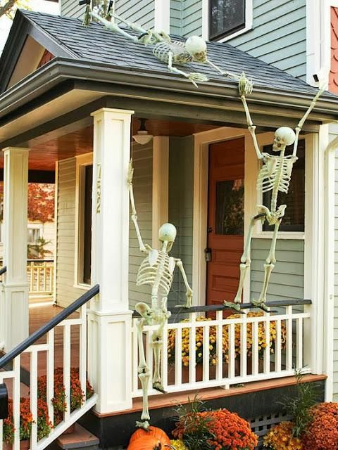 Spooky Halloween Skeleton Decors That Will Scare Your