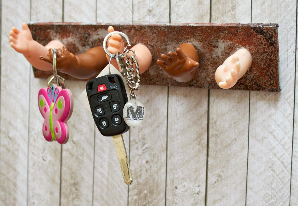 Dolls key holder