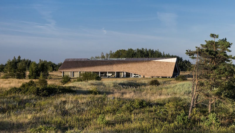 Dune House in Latvia architectural features