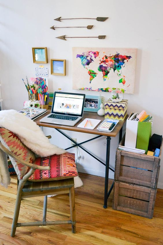 home office decorating ideas nyc.  Decorating Eclectic Tastes And Home Office Decorating Ideas Nyc Homedit