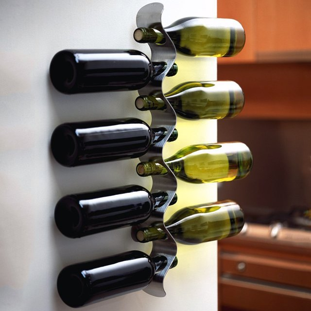 Fancy wall wine rack