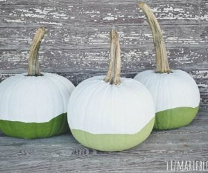 110 pumpkin decorating ideas for an awesome halloweenHow To Decorate A Green Pumpkin #9