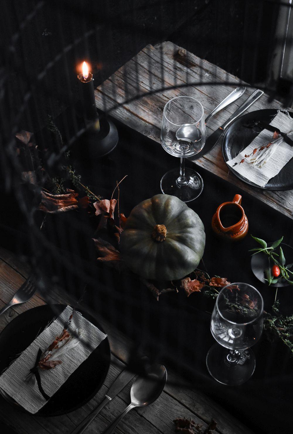 Merveilleux Halloween Table Setting Idea Top
