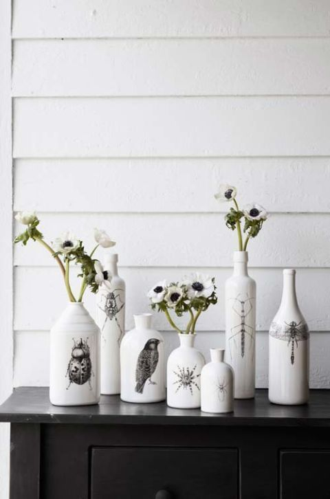Halloween Vases for Flowers