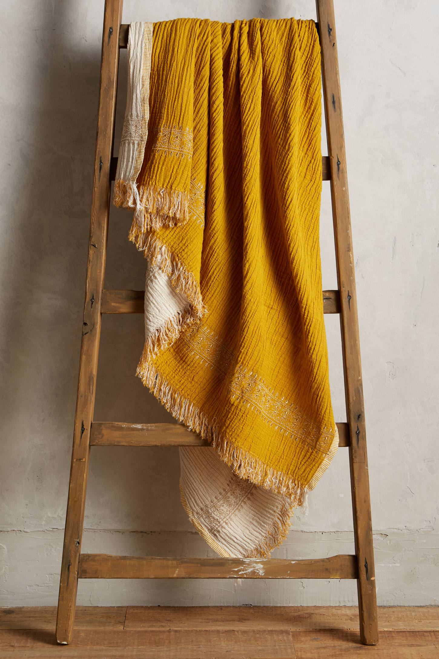 Harvest throw blanket