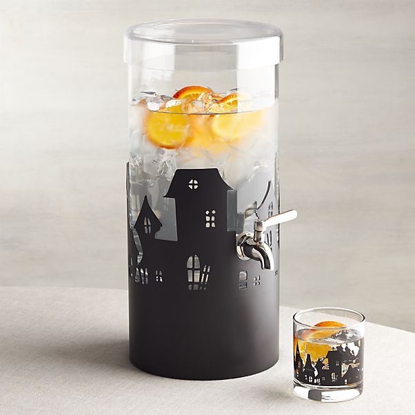 Haunted house drink dispenser