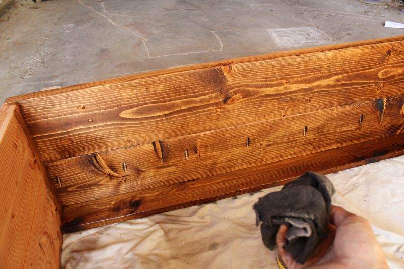 How to Stain Wood- ready to stain all wood piece