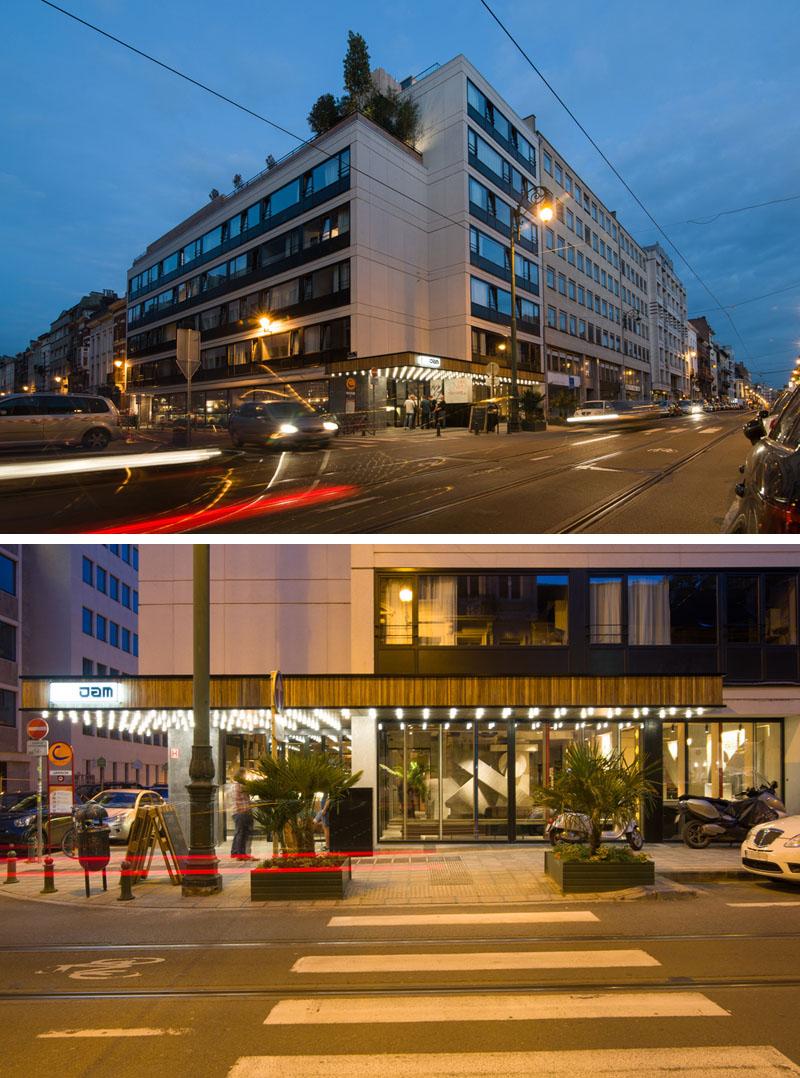 JAM Hotel in Bruseels Architektur und Lage