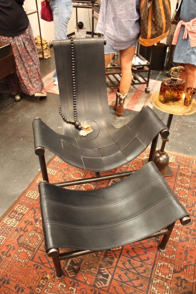 Jan Barboglio leather chair