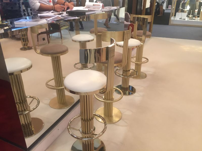 Kely Gold Bar Stools