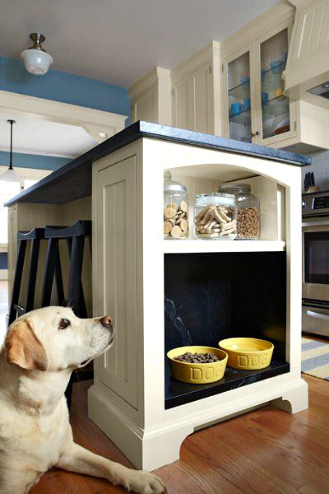 Kitchen Island Pet Spot View In Gallery