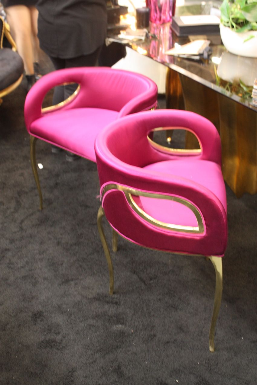 Koket Pink Chairs Magenta Awesome Ideas