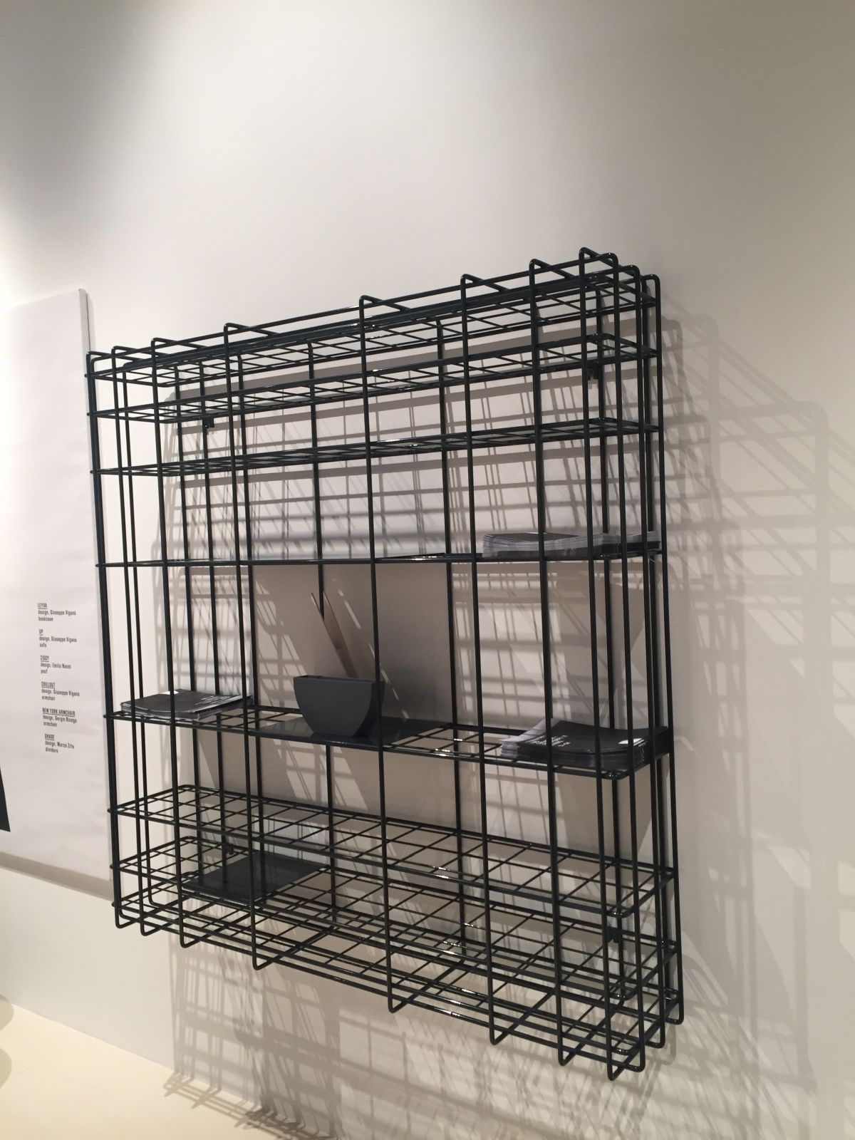 Leyva wire bookcase