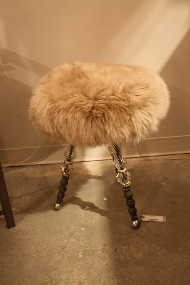 luna-bella-crustal-legged-fur-stool