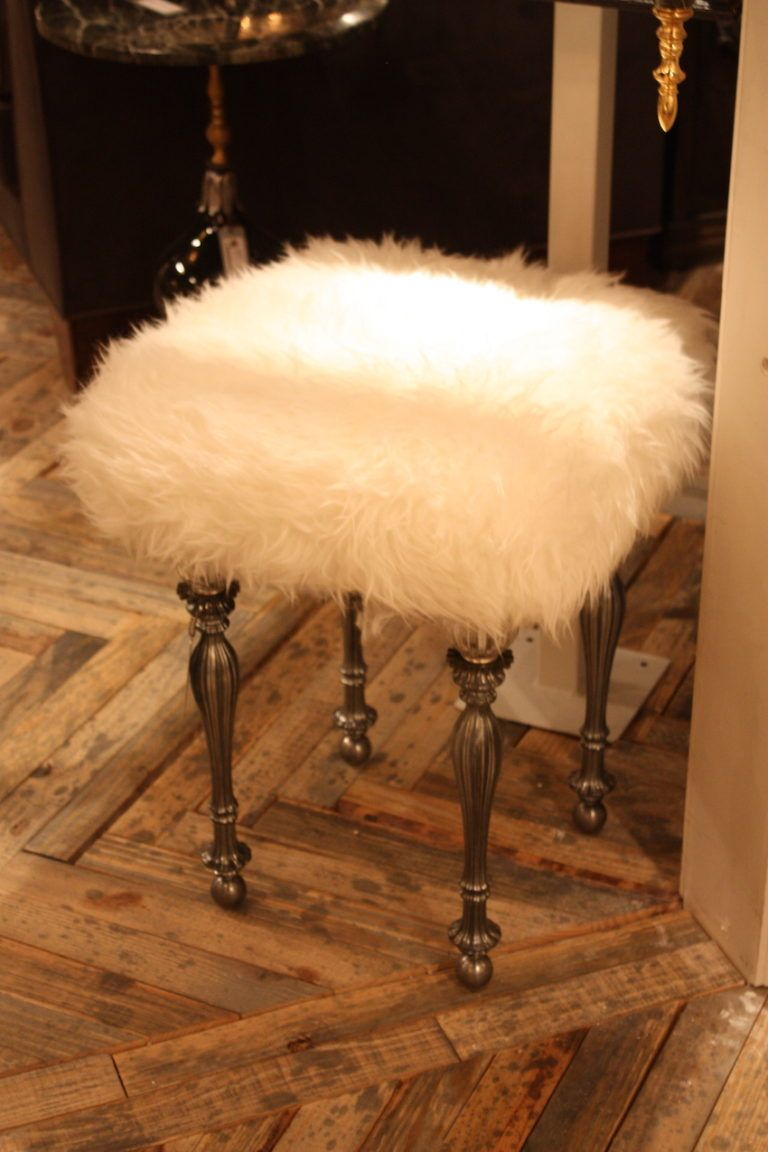 nick-alain-fur-stool