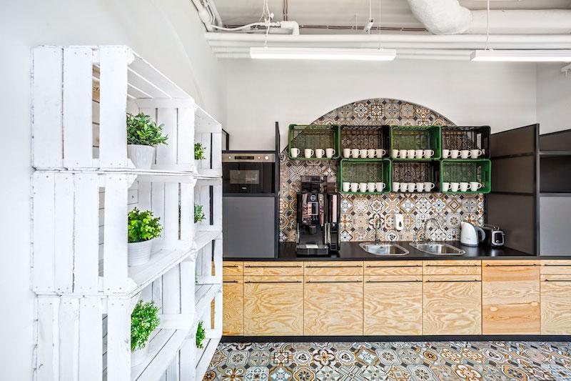 Opera office kitchen cabinets