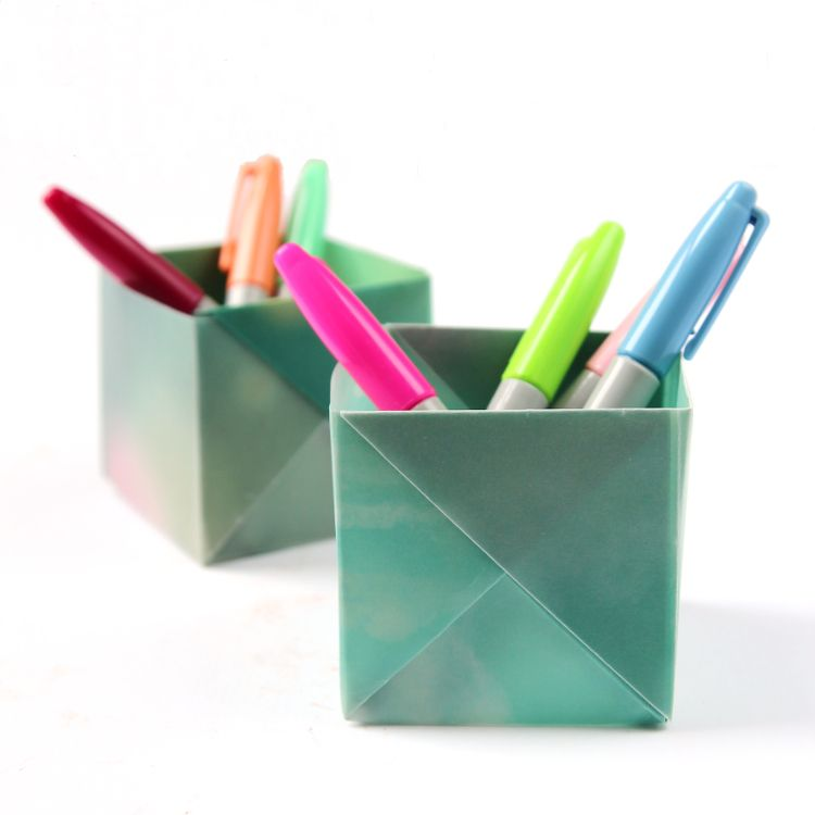 Back to school problems cluttered desks and tidy solutions Diy pencil holder for desk