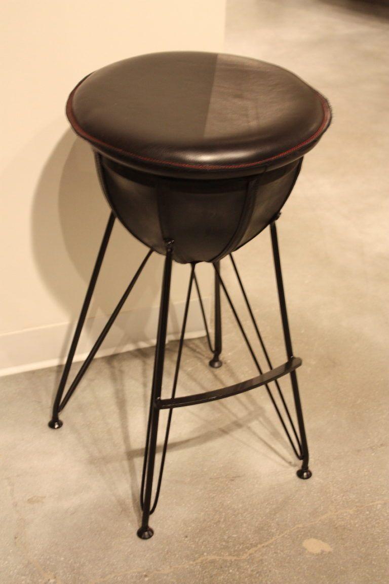 Pacific Green bar stool design