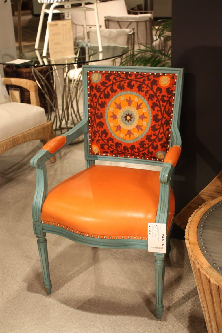 palecek-bright-chair-design & Las Vegas Furniture Market Features Cool Chair Designs