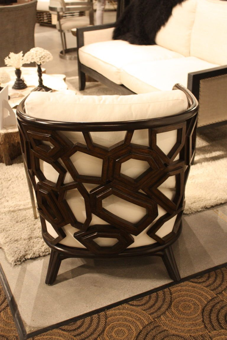 This beautiful chair is also from Palecek.