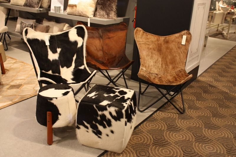 Hair On Hide Is A Trending Finish For Furniture