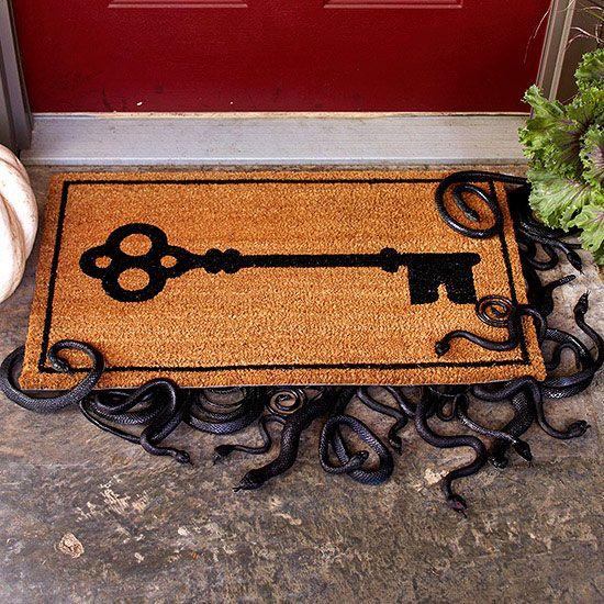 Plastic porch snakes