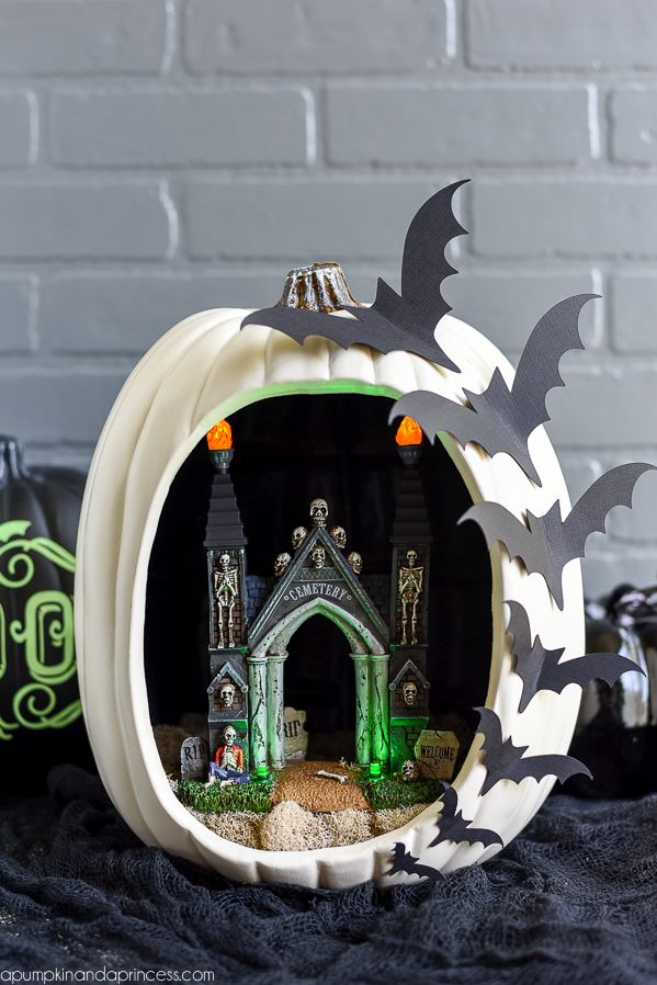 Pumpkin diorama Project