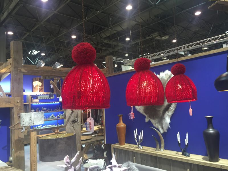 Red Hanging Pendant
