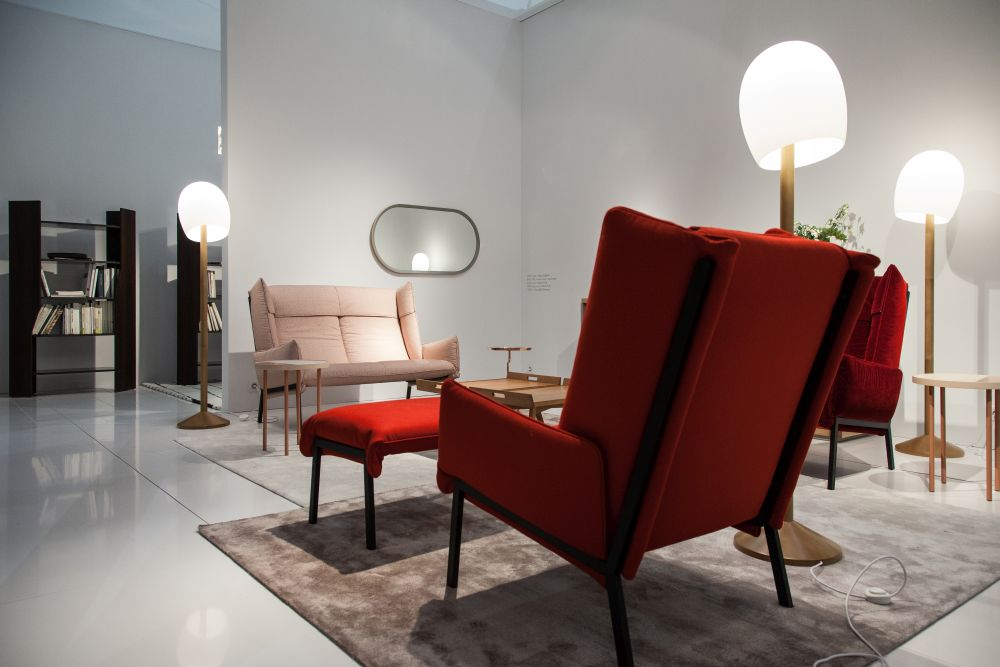 red-large-armchairs